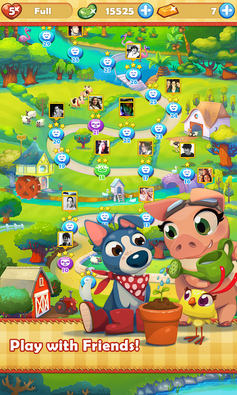 Android Farm Heroes Saga Screen 17