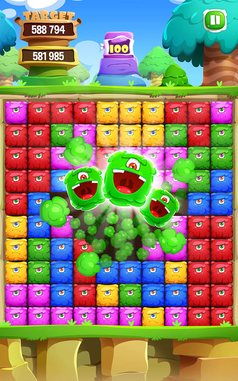 Android Pop Monster Dash Screen 7