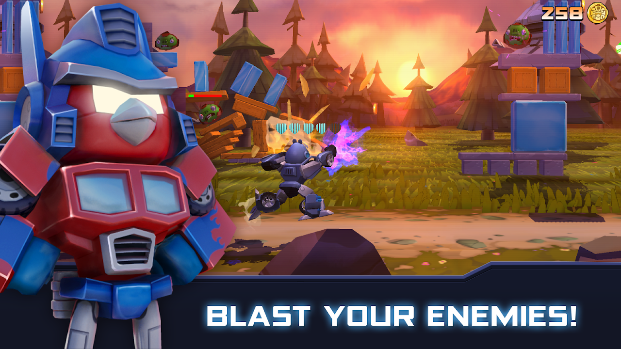 Angry Birds Transformers 1.35.8 Screen 6
