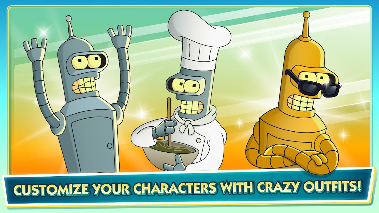 Android Futurama: Worlds of Tomorrow Screen 2