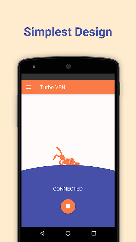 Android Turbo VPN - Unlimited Free VPN Screen 3