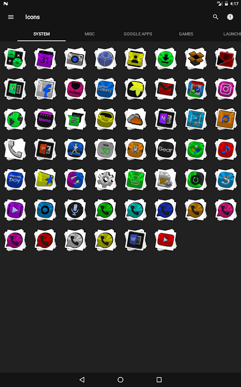 Android Stacks Icon Pack v4.2 Screen 11