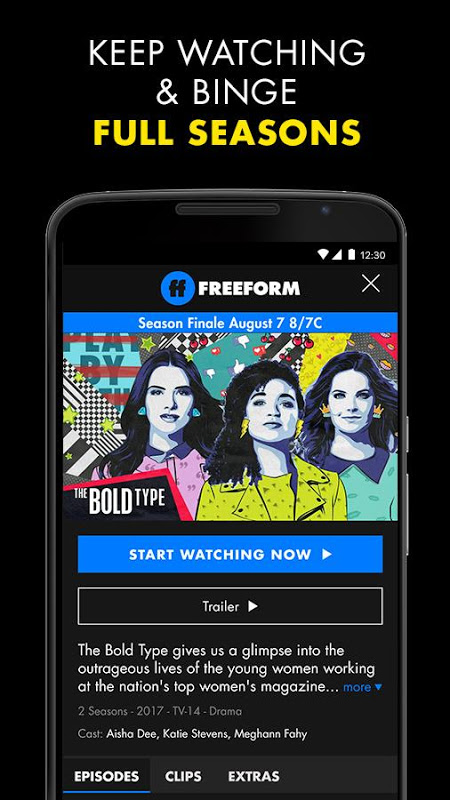 Android Freeform – Stream Full Episodes, Movies, & Live TV Screen 5