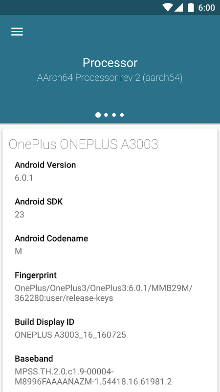 Kernel Adiutor 0.9.32.1 beta Screen 1