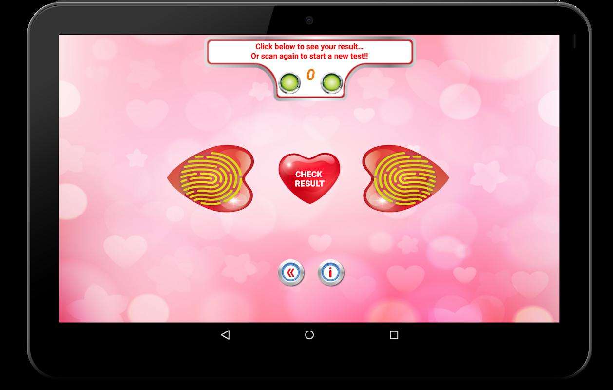 Fingerprint Love Scanner Prank 1.11.10FLTS Screen 12