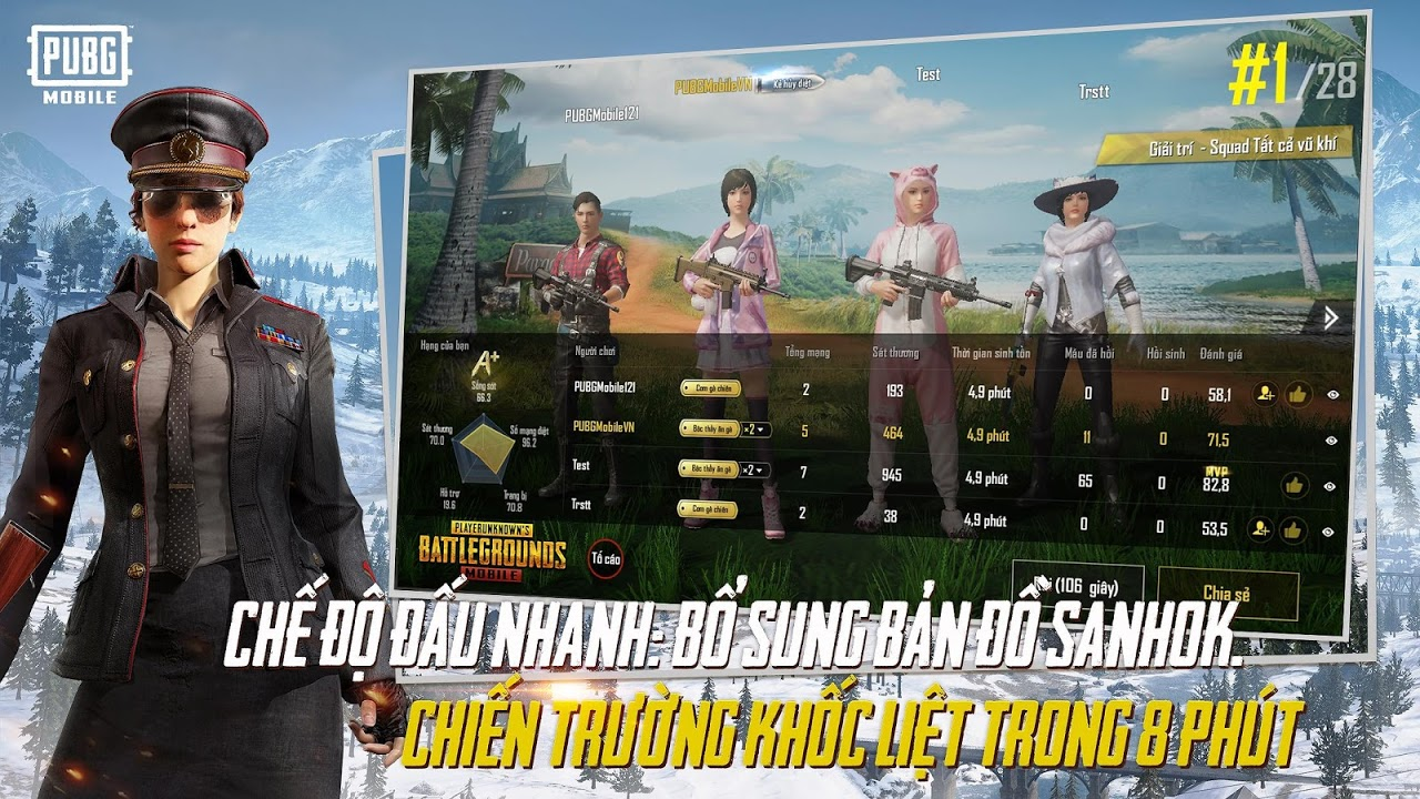 PUBG MOBILE VN 0.11.0 Screen 2