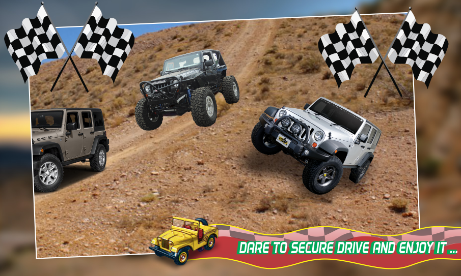 Android mountain race jeep2018 Screen 1