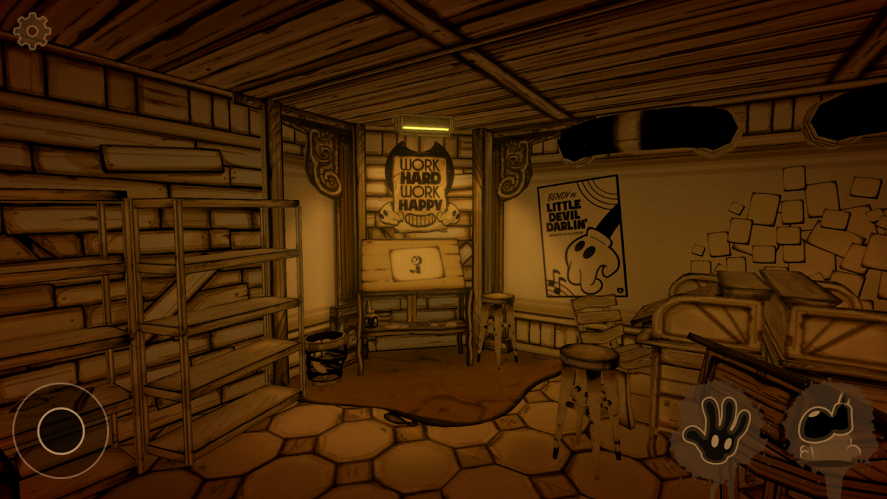 Android Bendy and the Ink Machine Screen 1