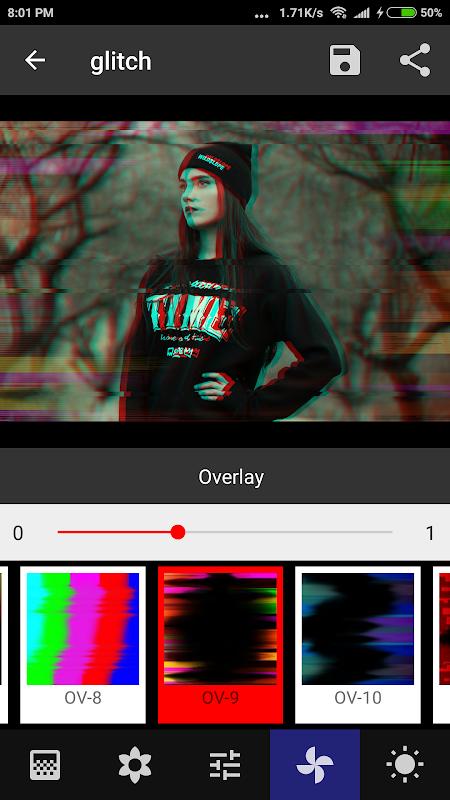 Onetap Glitch - Photo Editor 2.0.7 Screen 5