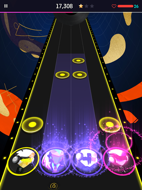 Android BEAT FEVER - Music Planet Screen 3