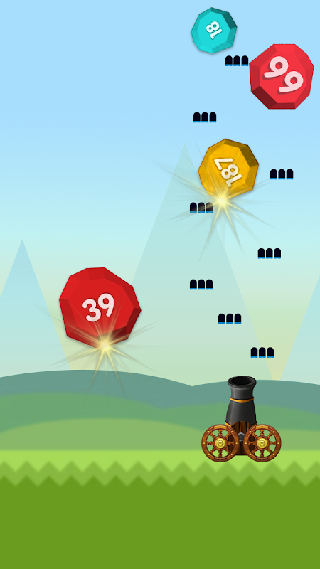 Android Ball Blast Screen 1