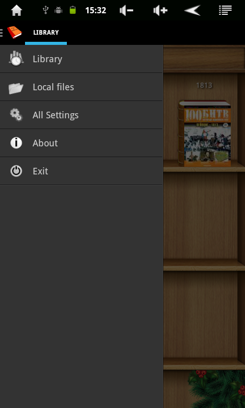 Android PDF and DJVU Reader Screen 9