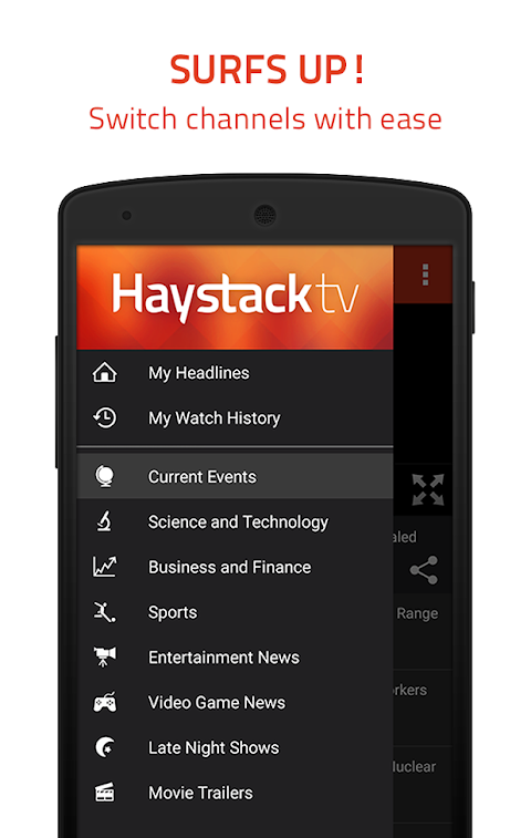 Haystack TV: Local & World News - Free 3.68 Screen 3