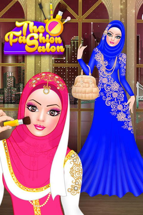 Hijab Fashion Doll Dress Up 1.2 Screen 1