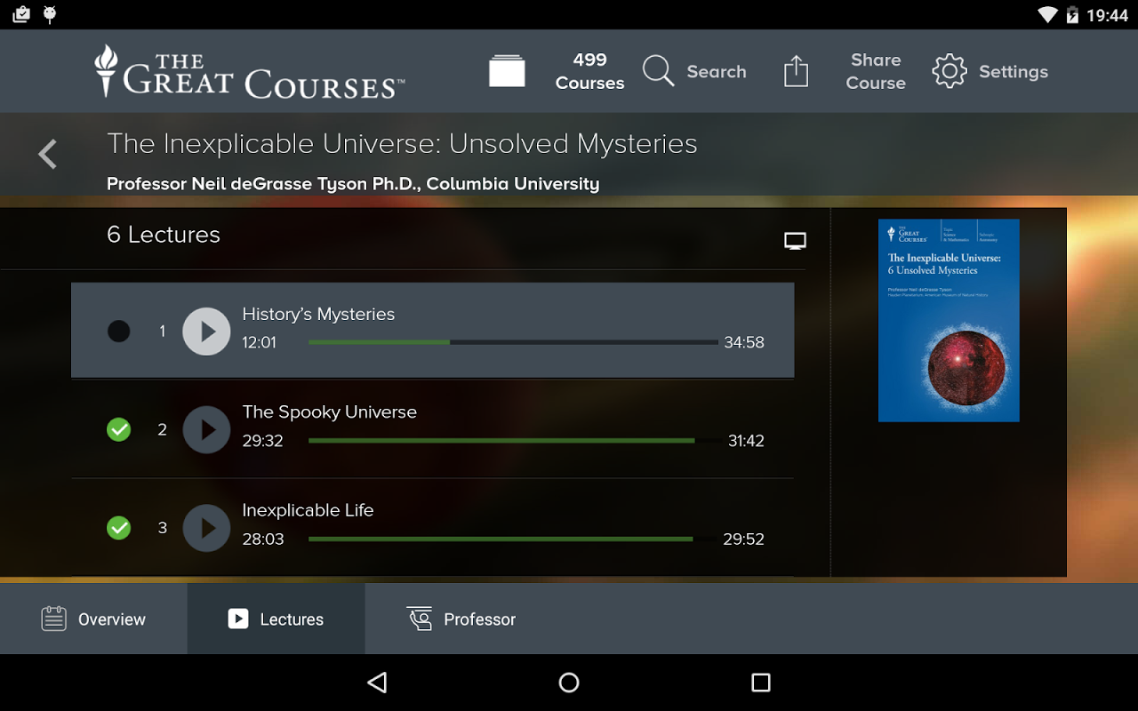 The Great Courses 3.2 Screen 6