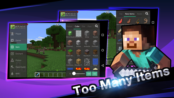 Android Master for Minecraft- Launcher Screen 2