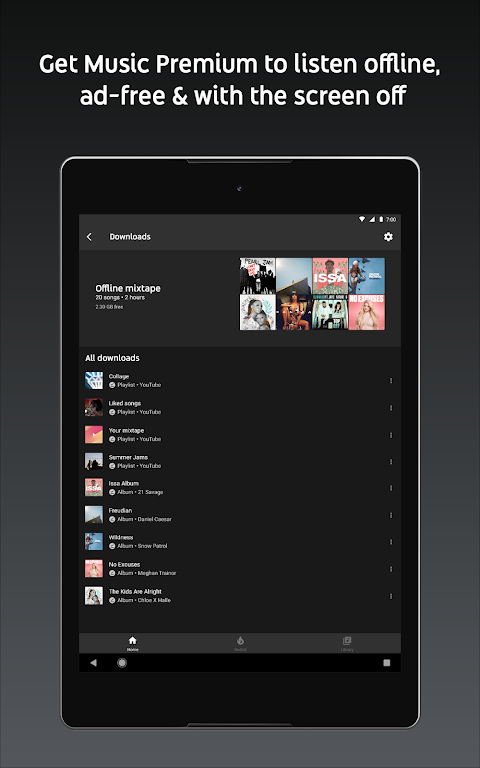 YouTube Music - Stream Songs & Music Videos 3.37.55 Screen 5