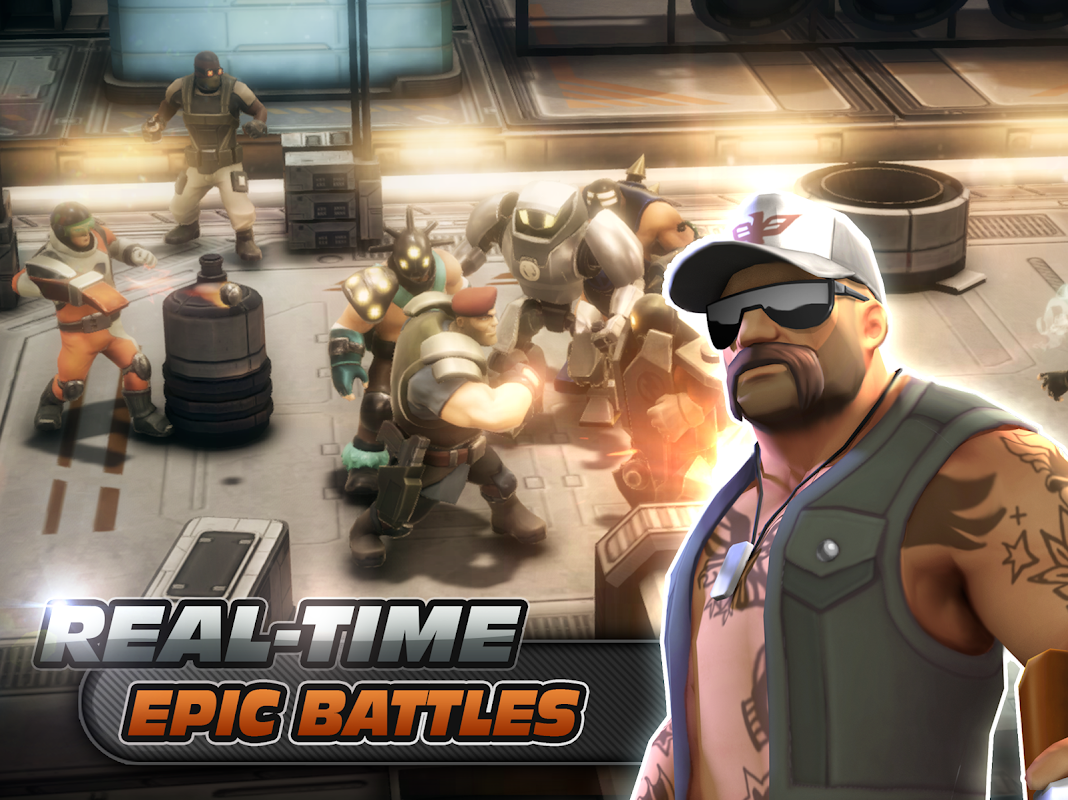 Alpha Squad 5: RPG & PvP Online Battle Arena 1.5.51 Screen 3