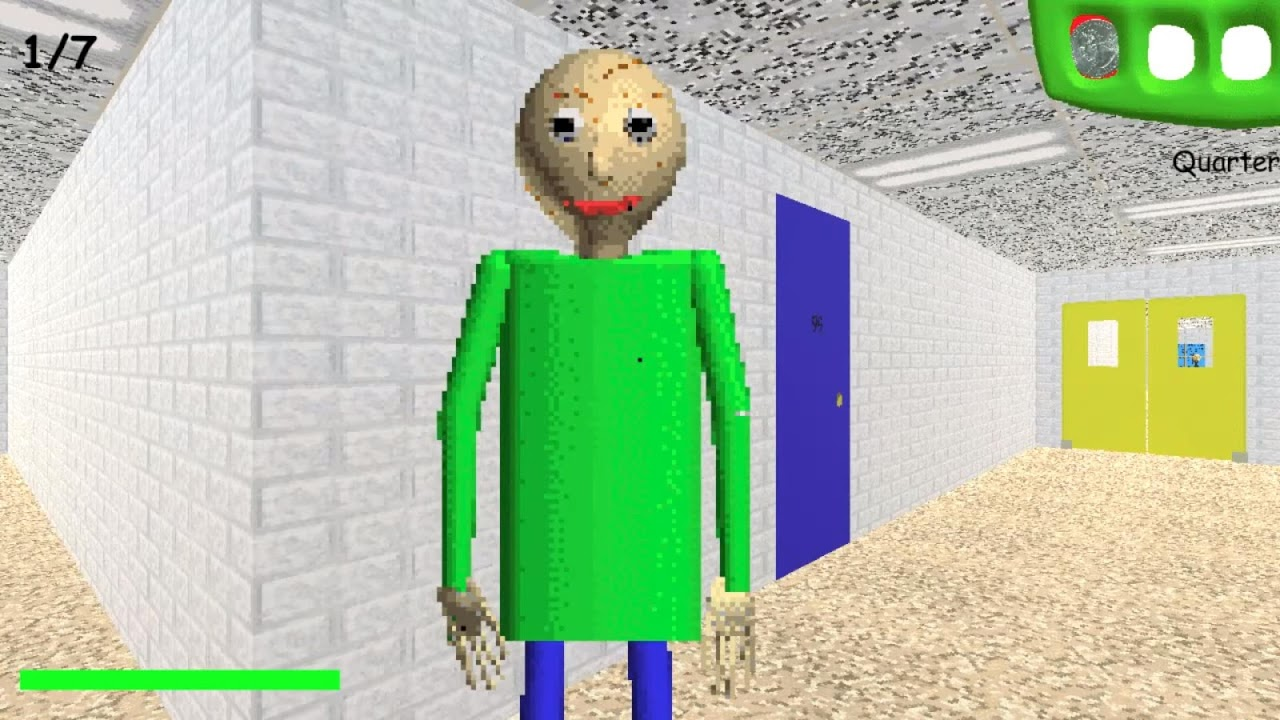Android Baldi's Basics in Education and Learning Screen 1