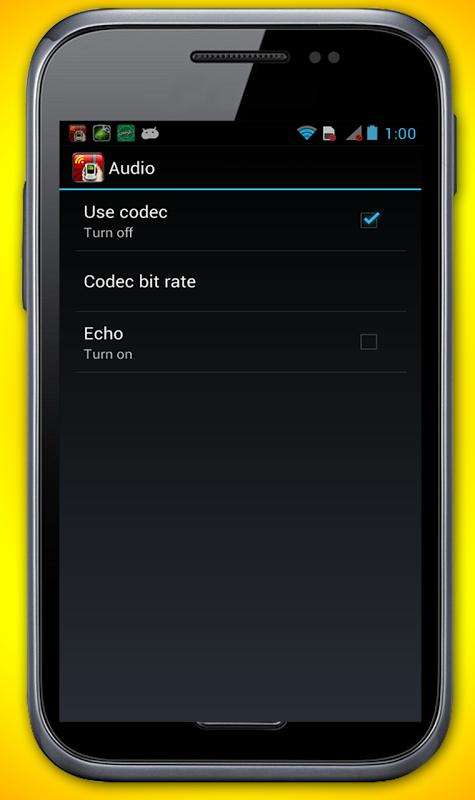 Android WiFi Walkie Talkie Screen 4