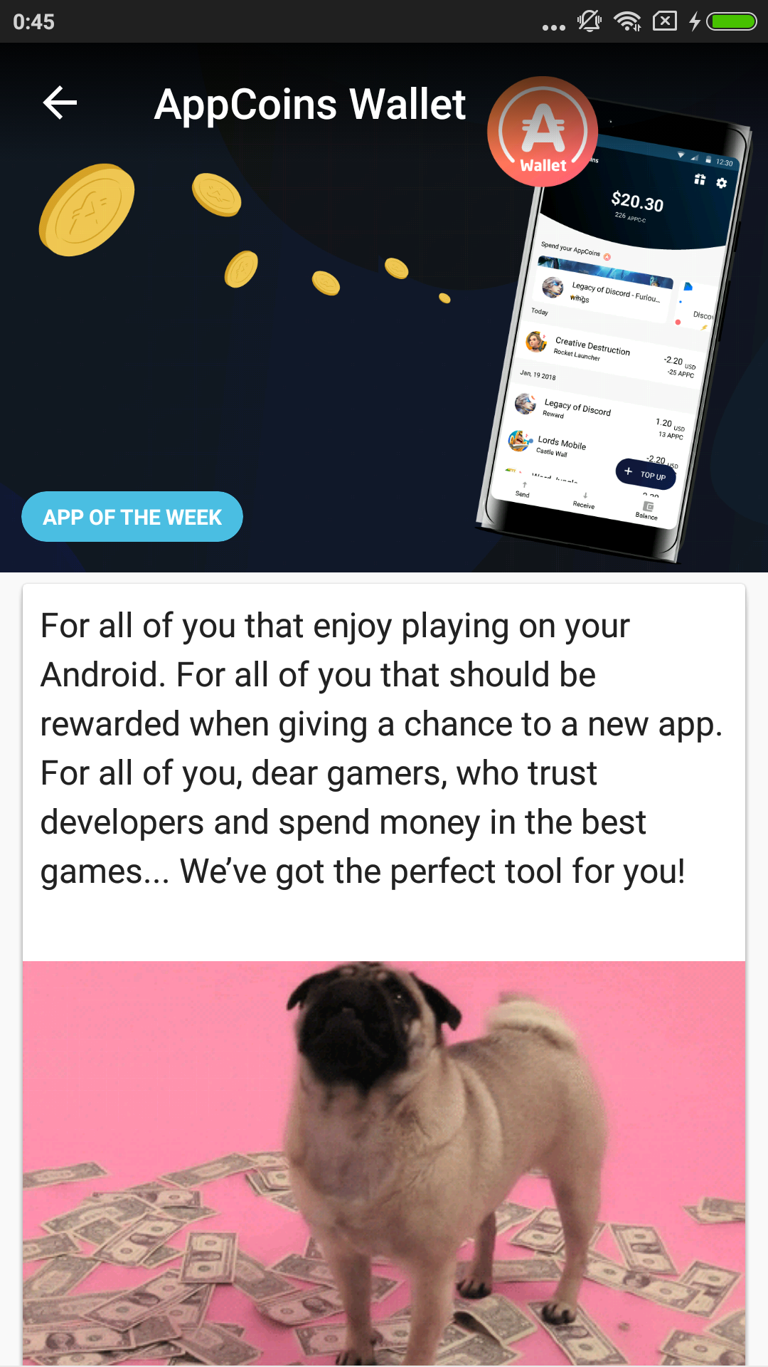 Aptoide Dev 9.9.6.1.20191002 Screen 2