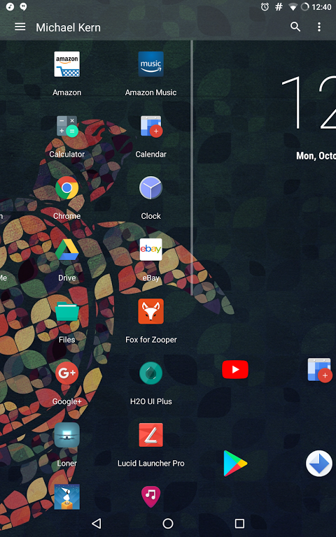 Android Lucid Launcher Pro Screen 3