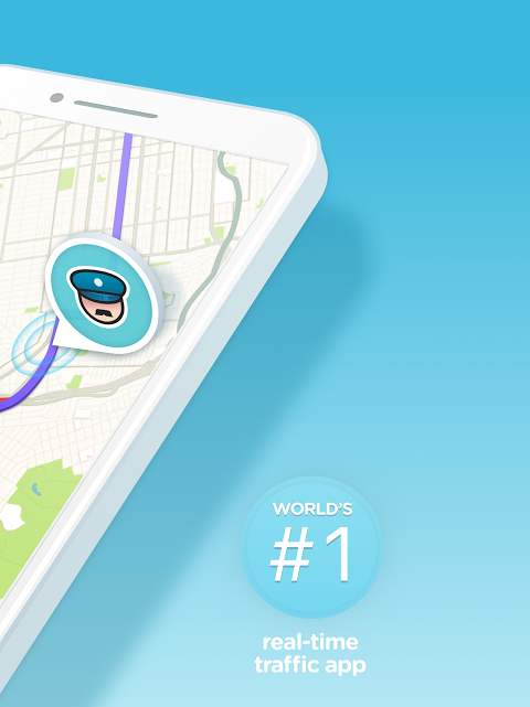 Android Waze - GPS, Maps, Traffic Alerts & Sat Nav Screen 6