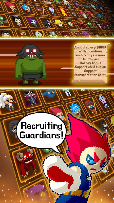 Android Videogame Guardians Screen 3
