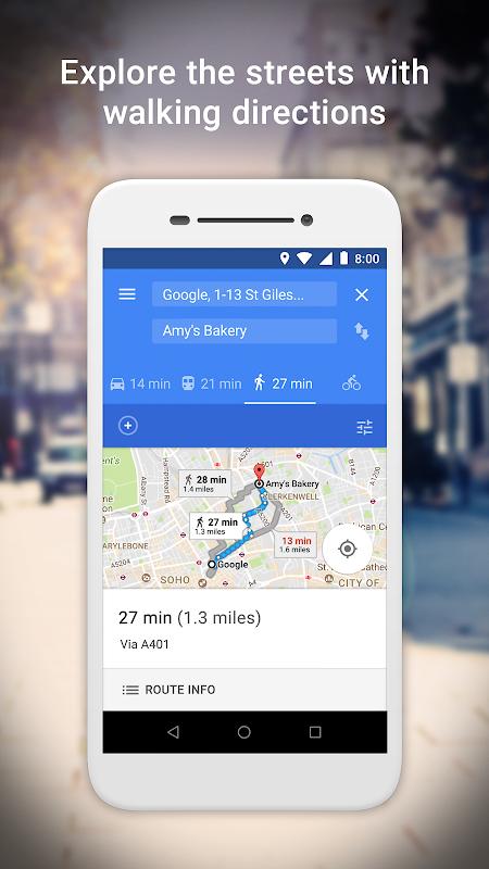 Google Maps Go – Directions, Traffic & Transport 98 Screen 3