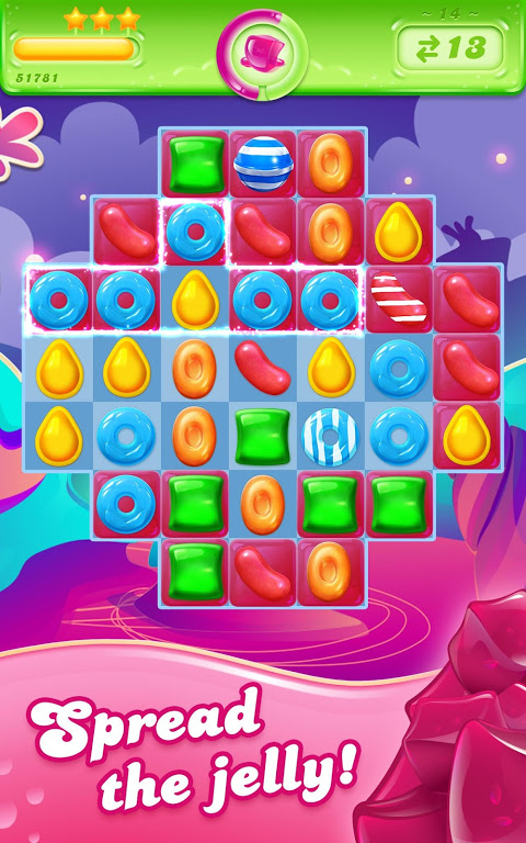 Android Candy Crush Jelly Saga Screen 6