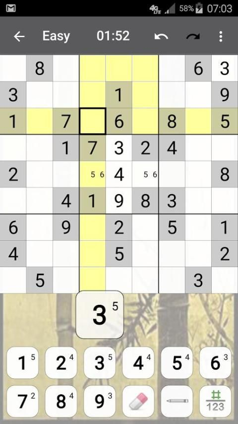 Sudoku 10.2.5.g Screen 1