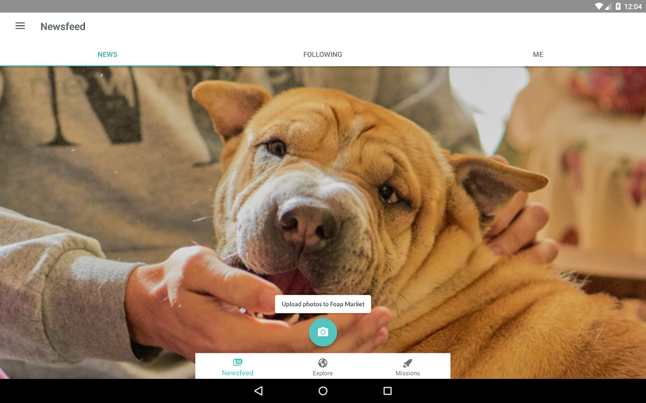 Android Foap - sell your photos Screen 12