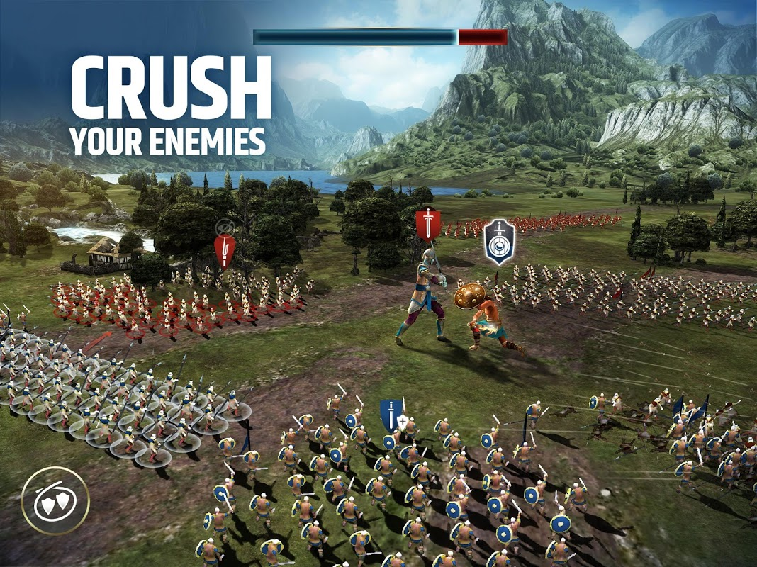 Android Dawn of Titans - Epic War Strategy Game Screen 8