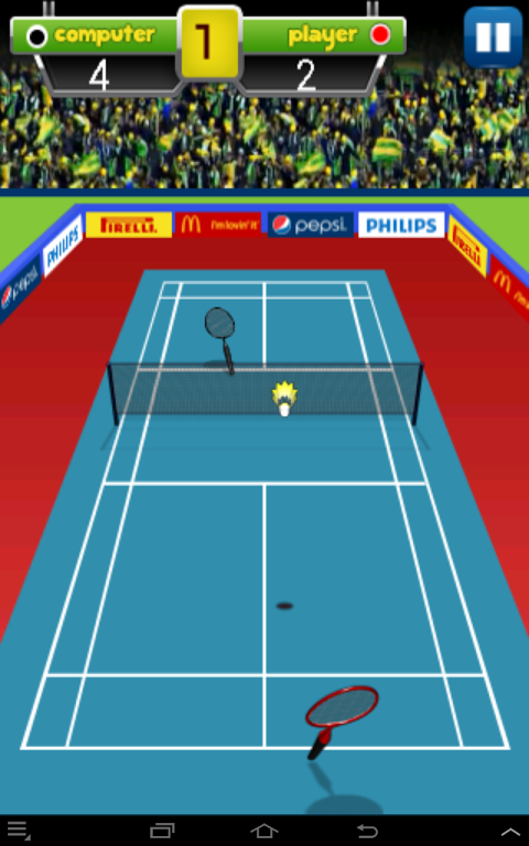 Android Badminton Champion Screen 6
