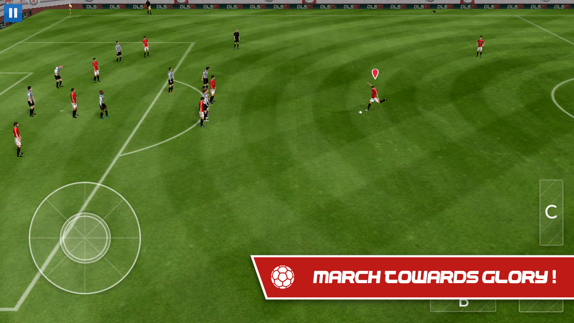 Android Dream League Soccer 2017 Screen 1