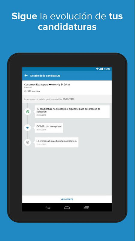 Android InfoJobs - Job Search Screen 14