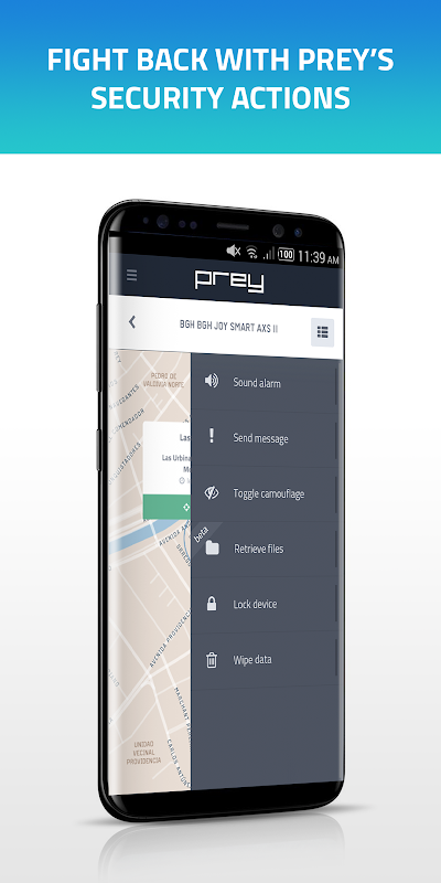 Prey Anti Theft: Find My Phone & Mobile Security 1.9.9 Screen 1