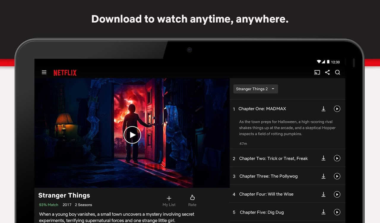 Netflix 6.21.0 build 12 31615 Screen 4