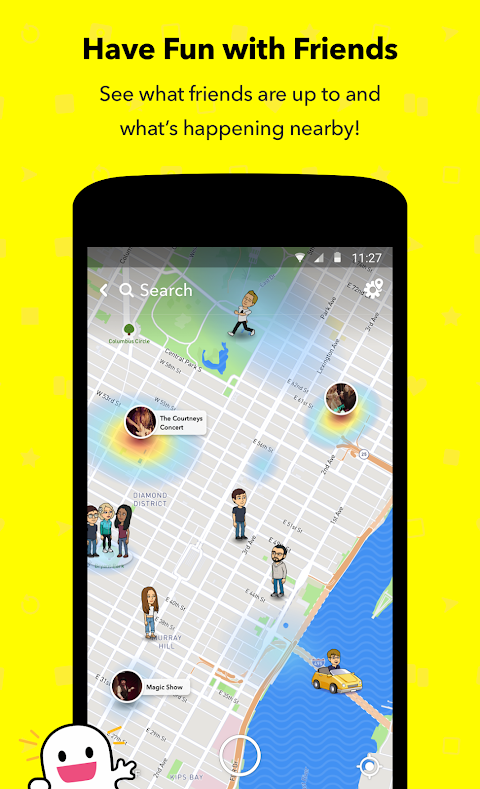 Snapchat 10.45.1.0 Beta Screen 3