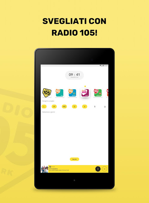 Android Radio 105 Screen 6