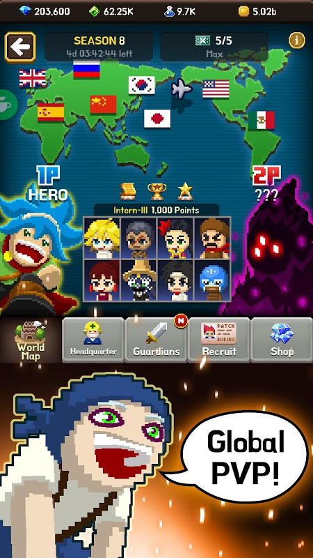 Android Videogame Guardians Screen 2