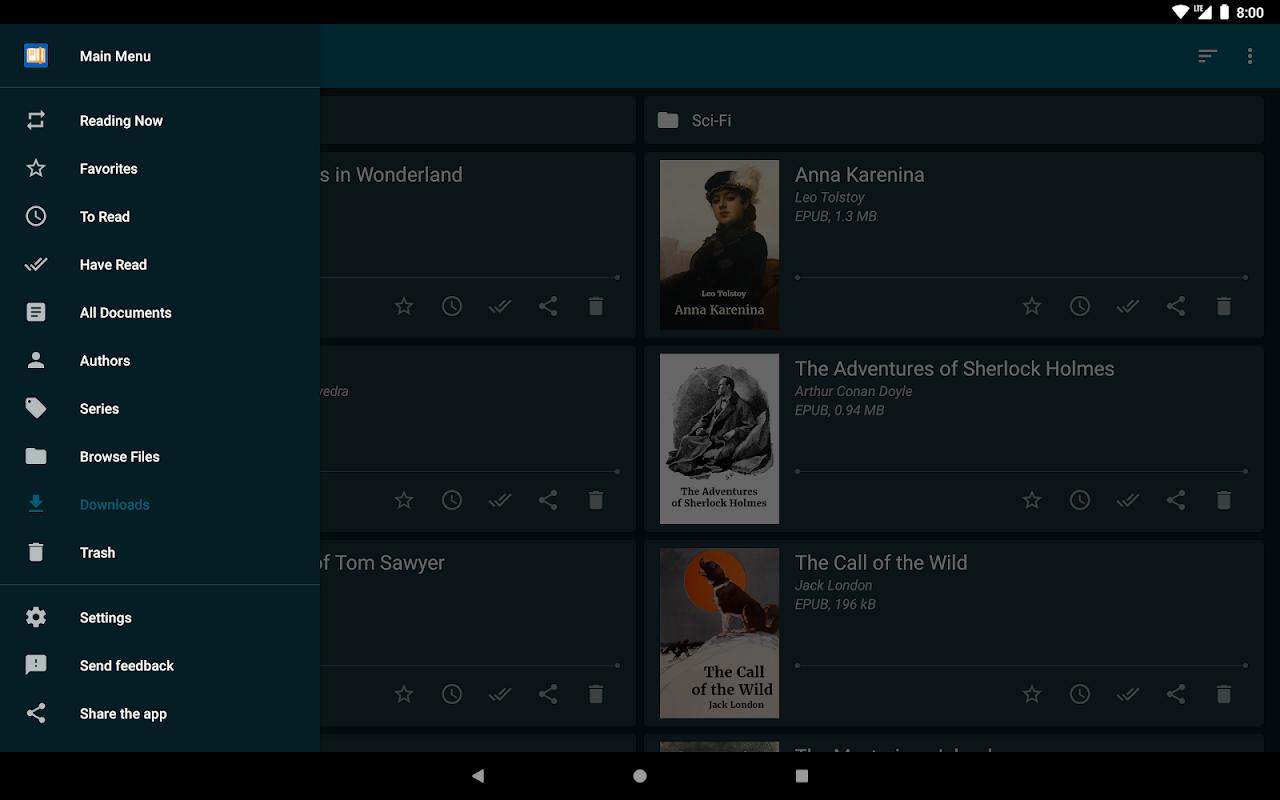 ReadEra - epub, pdf, docx ebook reader 19.01.10+730 Screen 8