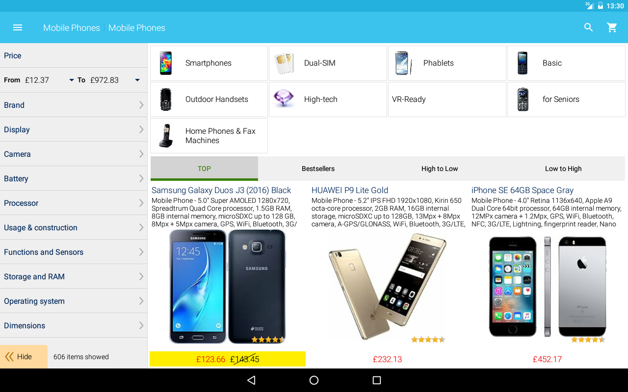 Alza.co.uk 6.2.6 Screen 2