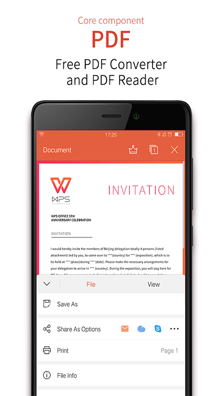 WPS Office + PDF 11.3.3 Screen 4