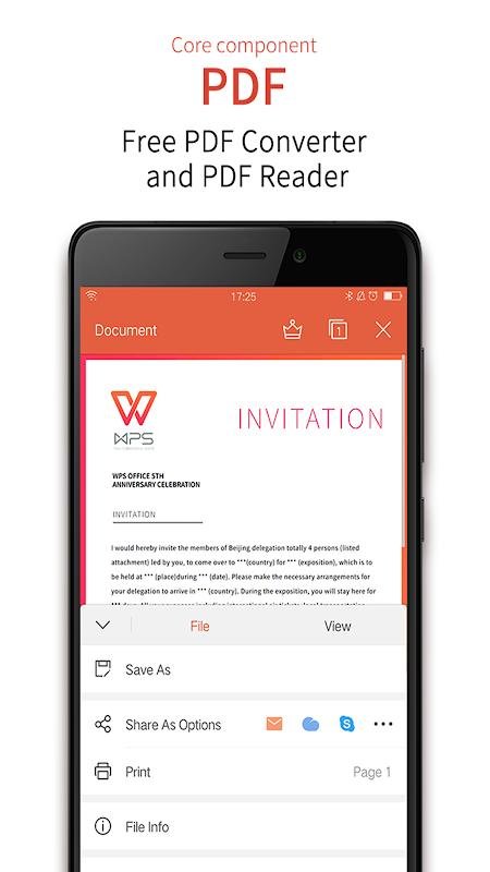 WPS Office + PDF 11.3 Screen 4