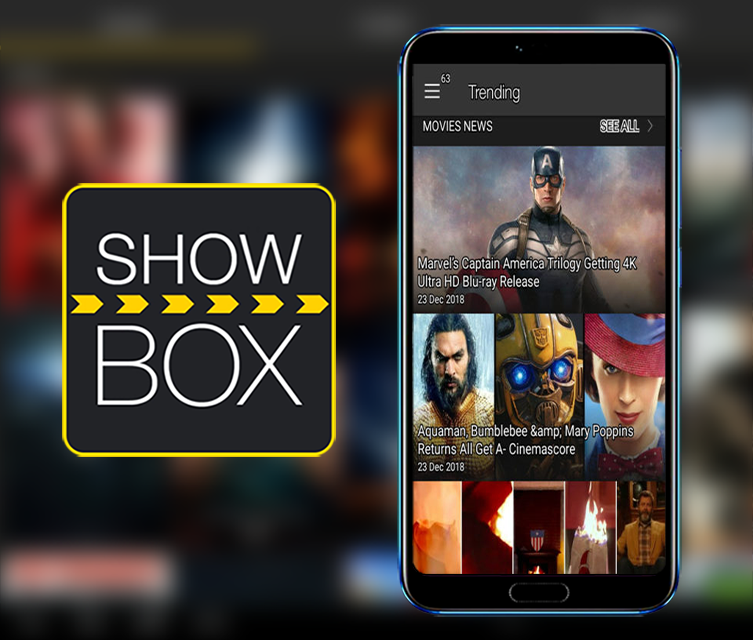 Android Showbox Screen 1