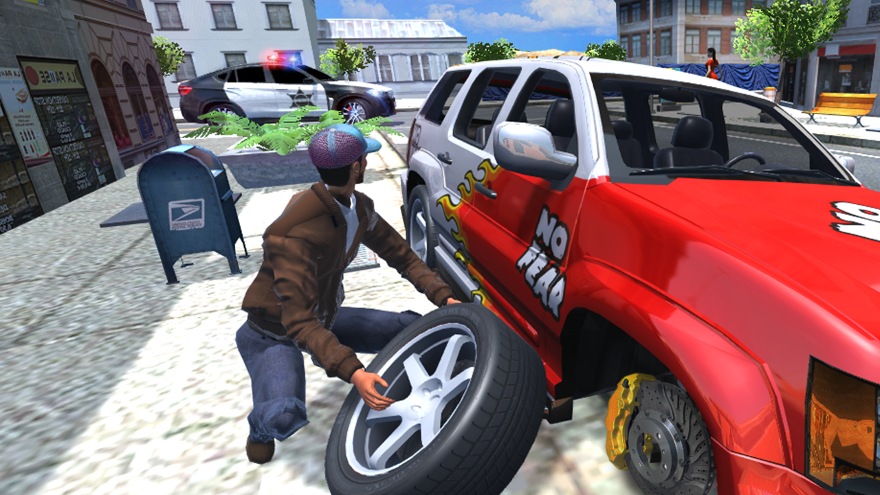 Android Urban Car Simulator Screen 5
