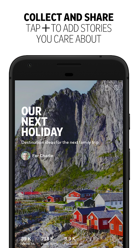 Android Flipboard: News For Any Topic Screen 5