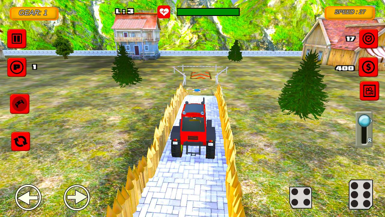 Tractor Farm Parking Drive 1.0 Screen 2
