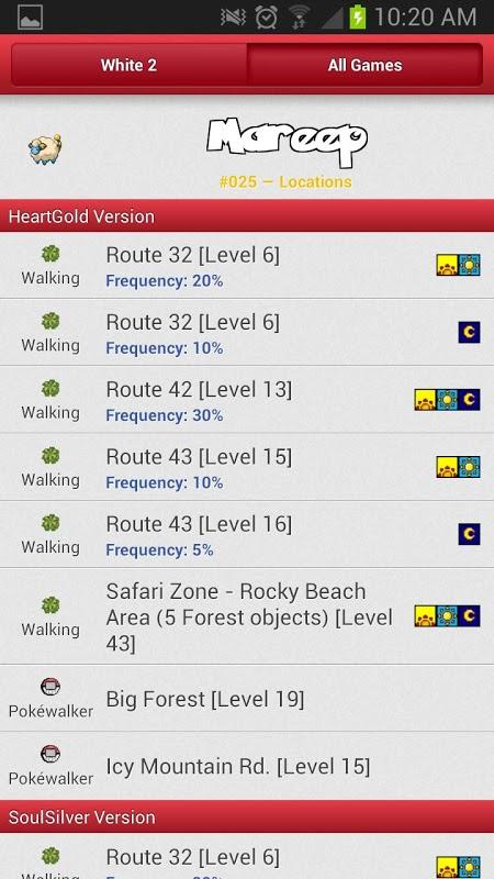 Pokédexter 2.0 Screen 5